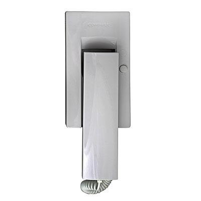 2-х проводная трубка, кнопка открытия замка, питание 220В, цвет- белый.  Домофон DP-20H.